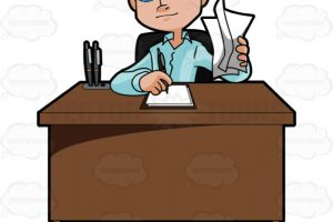 young man clipart 2