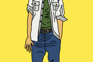 young man clipart