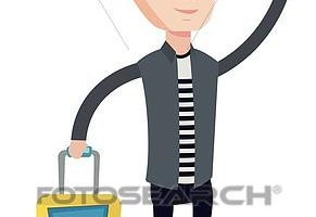 young man clipart 4