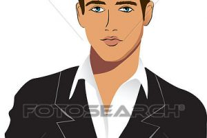 young man clipart 5