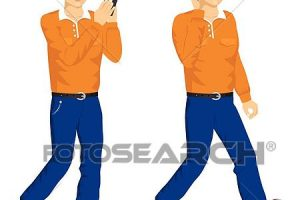 young man clipart 6