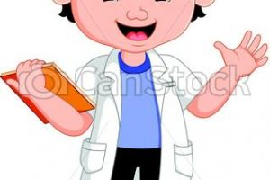 young scientist clipart 1