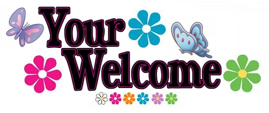 Your welcome clipart 4 » Clipart Station