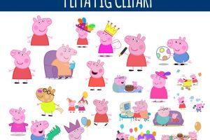 brother pig clipart 2