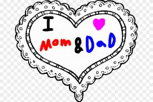 mom or dad clipart 2