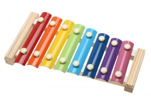 New xylophone clipart Music Instrument Toy Wooden Frame Style Xylophone Children Kids
