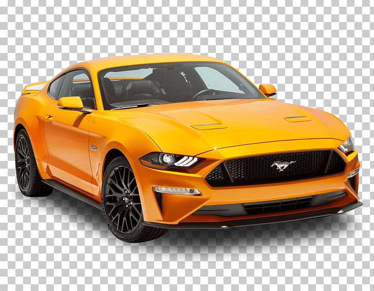 Yellow mustang car clipart 3 » Clipart Station