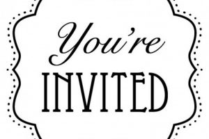 you're invited clipart fall