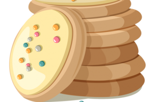 yummy cookie pie clipart 1