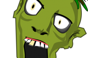 zombie mall clipart