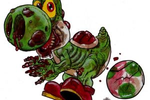zombie mall clipart 2