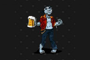zombie mall clipart 6