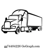 18 wheeler clipart cute 2