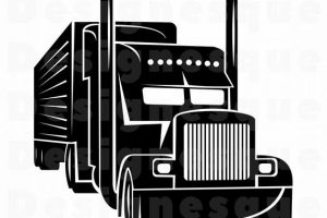 18 wheeler clipart cute 5