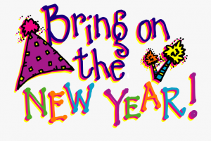 1920s new year eve clipart