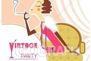 1920s new year eve clipart 4