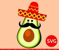 avocado shape clipart 4