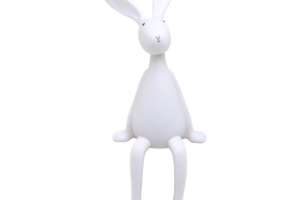 bunny and crane clipart 1