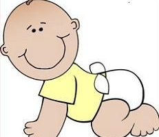 donuts and diapers clipart