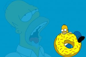 home simpson donut clipart 2