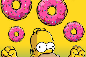 home simpson donut clipart 4