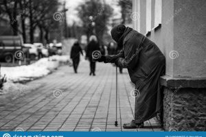 homeless beggar clipart black and white 7