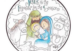 jesus reason for the seasonchristmas clipart 3