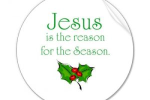 jesus reason for the seasonchristmas clipart 4