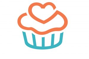 outline design cupcake clipart 6