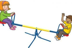 pros cons seesaw clipart 1