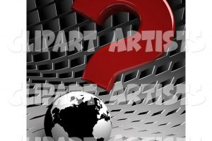 questions clipart black background