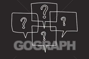 questions clipart black background 1