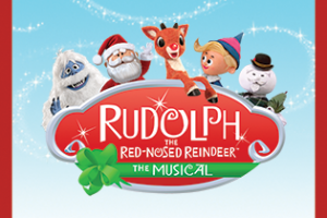rudolph the red nosed reindeer elf clipart