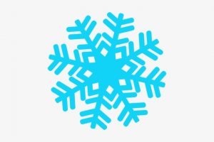 snowflake borders clipart 2
