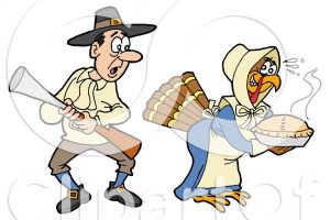 turkeys in disguise clipart 3