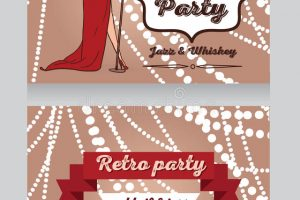 vintage wedding music party clipart 5