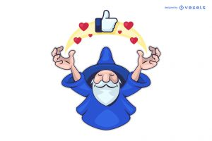 wizard book templet clipart 1