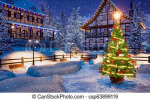xmas lights in a square clipart 2