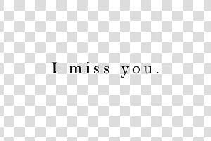 you are missed clipart 1