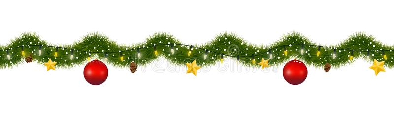 christmas garland clipart - christmas ornament garland clipart free PNG  image with transparent background | TOPpng
