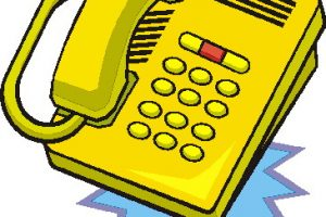 clipart for telephone 2