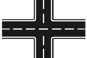 street intersection clipart 1