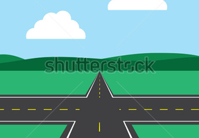 street intersection clipart 2