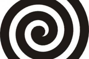 swirl circle png clipart 1