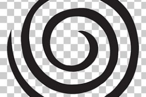 swirl circle png clipart 2