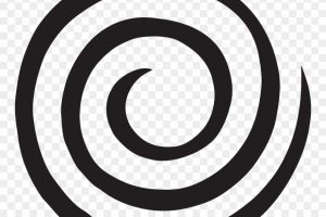 swirl circle png clipart 5