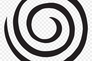 swirl circle png clipart 6